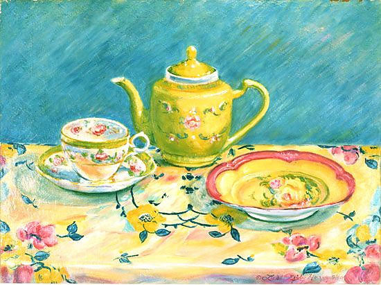 The Yellow Teapot, 1990